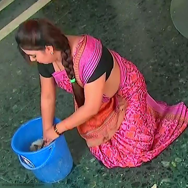 Telugu TV Actress Compilation S1_7_Hot Saree photos