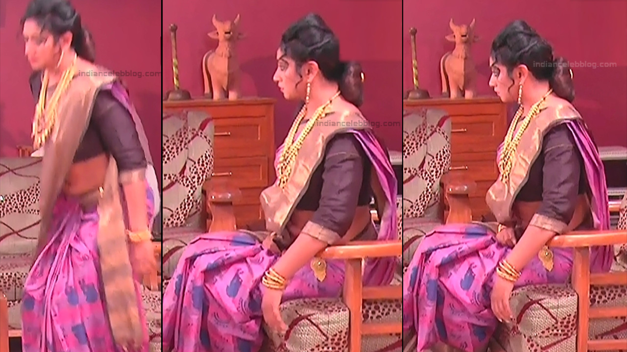 Telugu TV Actress MCmplS3 Mature 10 Hot Saree pics