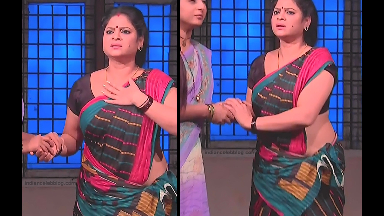 Telugu TV Actress MCmplS3 Mature 12 Hot Saree pics