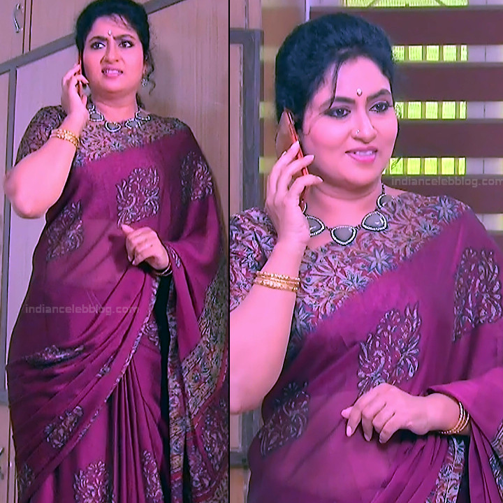Telugu TV Actress MCmplS3 Mature 17 Hot Saree pics
