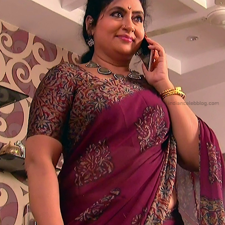 Telugu TV Actress MCmplS3 Mature 18 Hot Saree pics