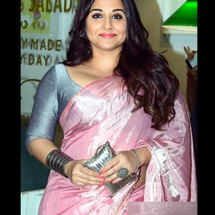 Vidya Balan_Bollywood Actress Event Pics - S1_13_Hot Saree