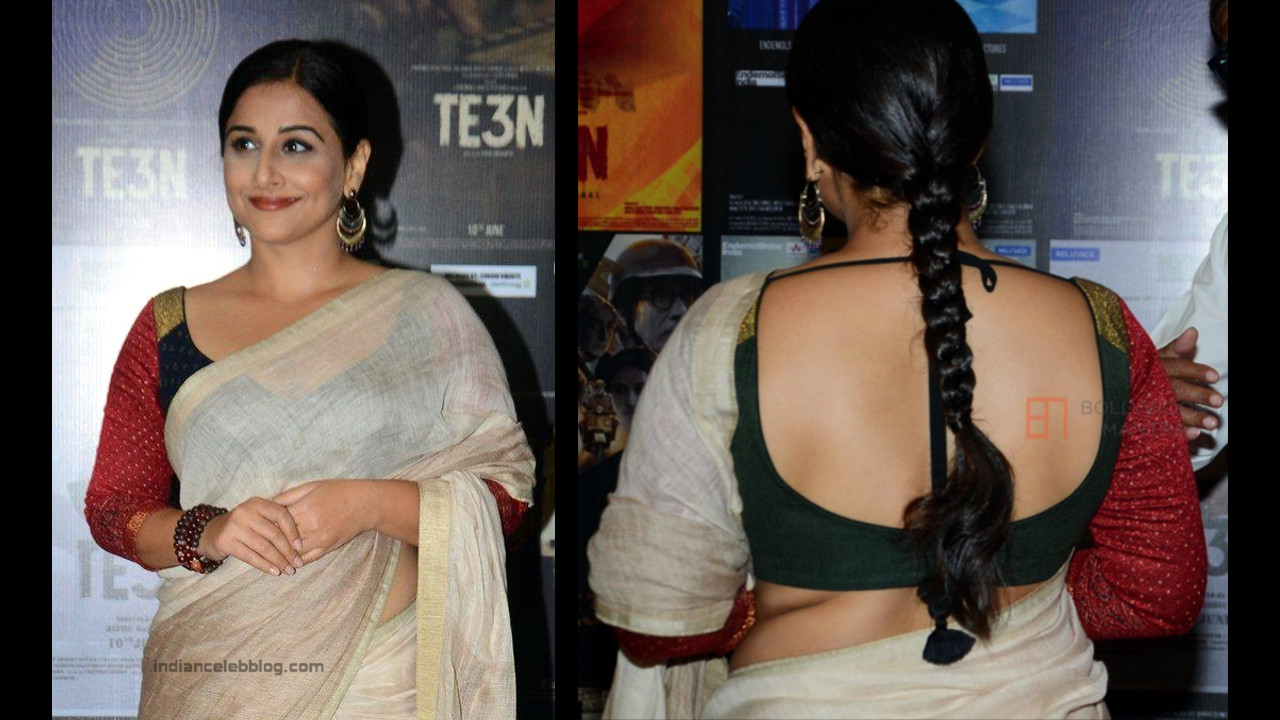 Vidya Balan_Bollywood Actress Event Pics - S1_23_Hot Saree