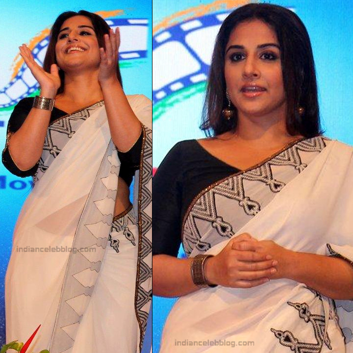 Vidya Balan_Bollywood Actress Event Pics - S1_6_Hot Saree