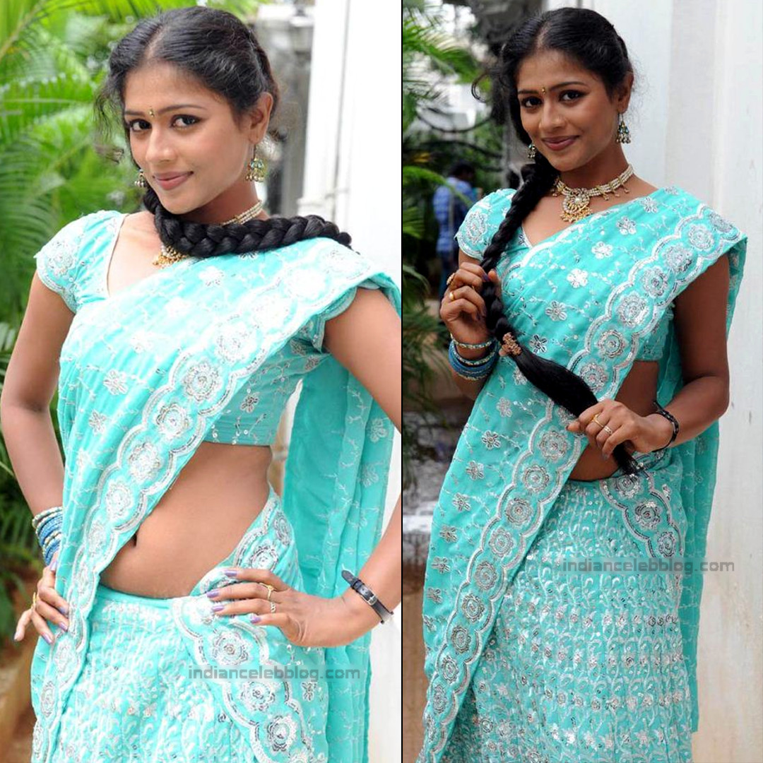 Anusri Telugu TV Actress Saree Photoshoot_18