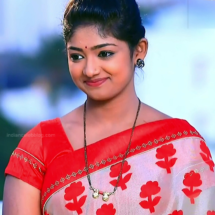 Bhoomi shetty kannada serial actress KinNS2 12 Hot saree photo