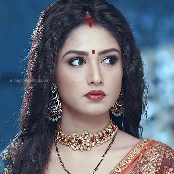 Donal Bisht Hindi Serial Actress EkDTS1 19 Hot Saree Pics