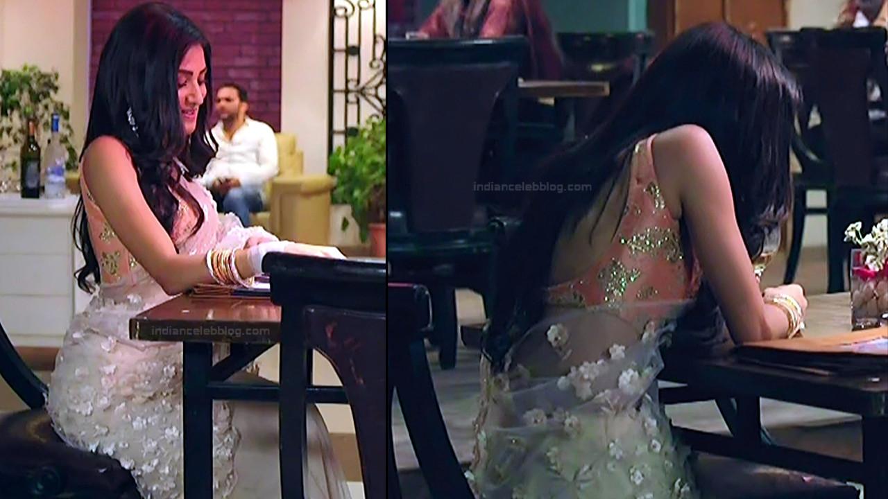 Donal Bisht Hindi Serial Actress EkDTS1 3 Hot Saree Pics