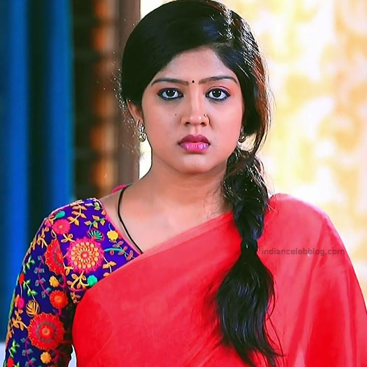 Nithya Kannada TV Actress Kinnari S1 12 Hot Saree Pics