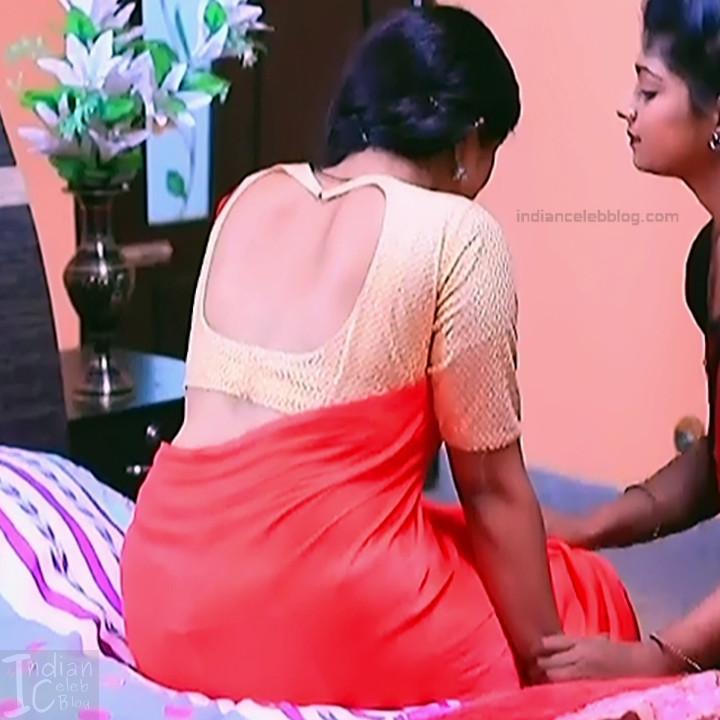 Nithya Kannada TV Actress Kinnari S1 19 Hot Saree Pics