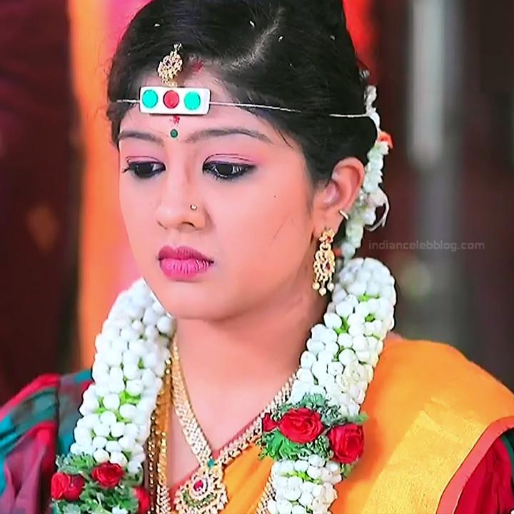 Nithya Kannada TV Actress Kinnari S1 4 Hot Saree Pics