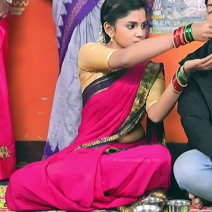 Raksha Gowda Kannada TV serial actress PutMS1 5 Saree Photo
