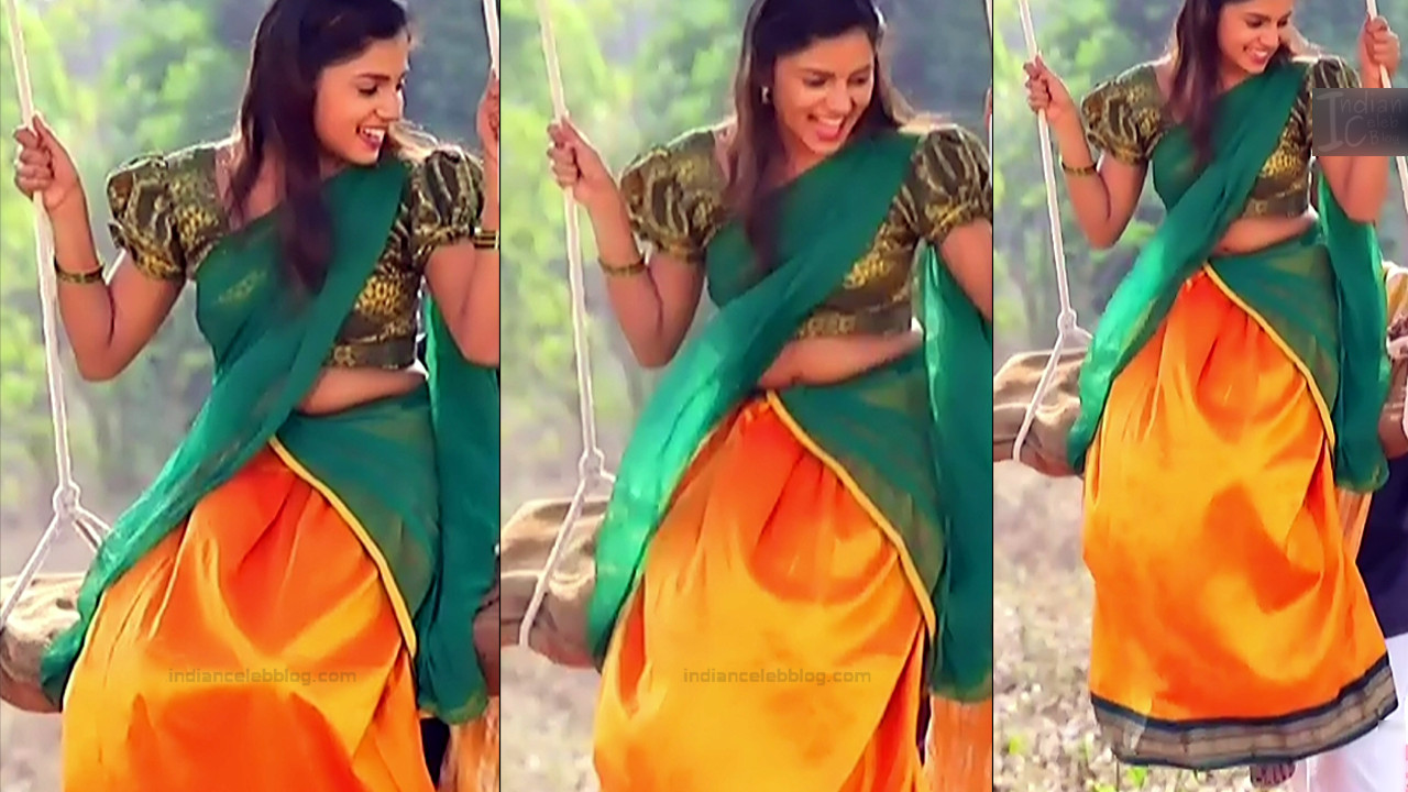 Raksha Gowda Kannada TV serial actress PutMS1 7 Saree Photo