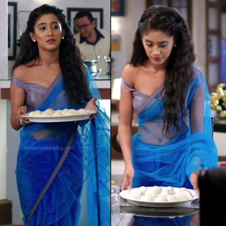 Shivangi Joshi Hindi TV Actress YehRKKH-S2 hot saree photos_14