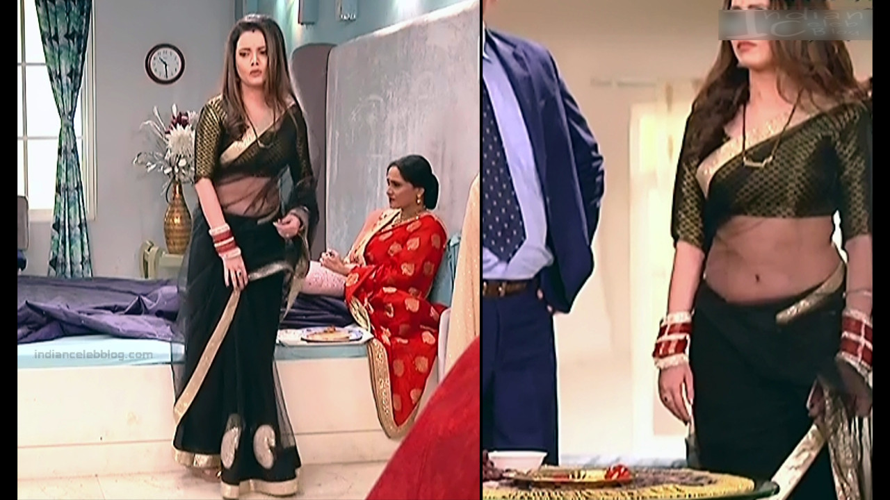 Shruti Kanwar Hindi TV Actress Savitri college S1 14 Hot saree pics