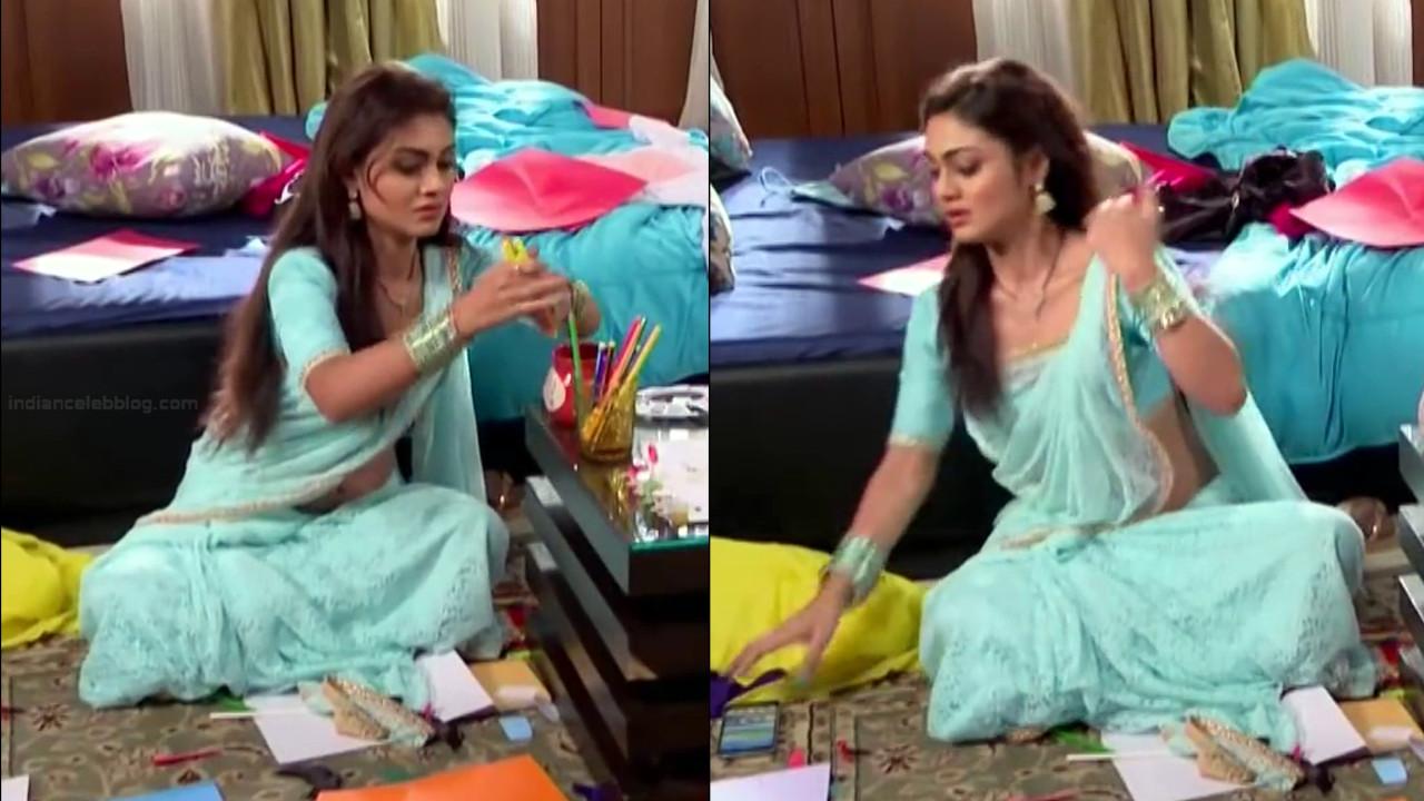 Sreejita De Hindi TV Actress Tumhi HBST-S1 4 Hot saree pics