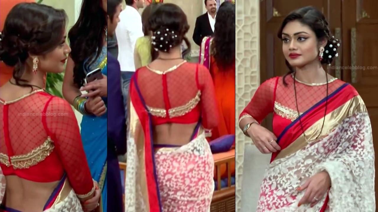 Sreejita De Hindi TV Actress Tumhi HBST-S1 8 Hot saree pics