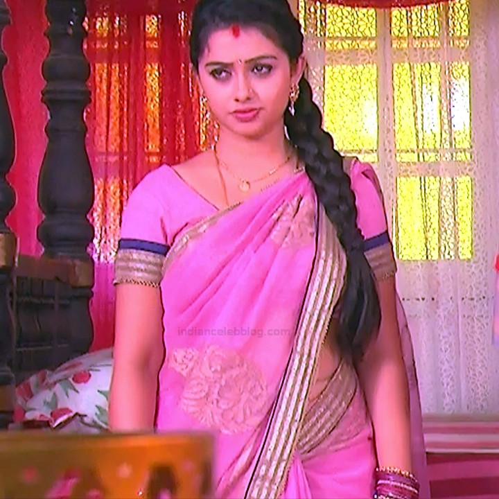 Aishwarya Meghana Telugu TV actress AgniSS2 10 hot sari pics