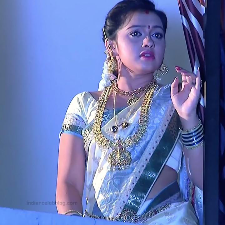 Aishwarya Meghana Telugu TV actress AgniSS2 2 hot sari pics