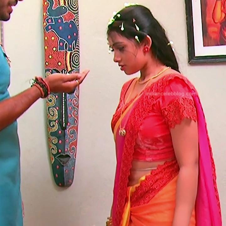 Aishwarya Meghana Telugu TV actress AgniSS2 9 hot sari pics