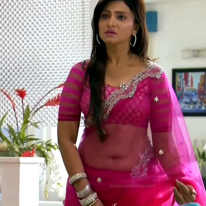 Aleeza Khan Hindi TV Actress SavDS1 3 Hot Saree caps