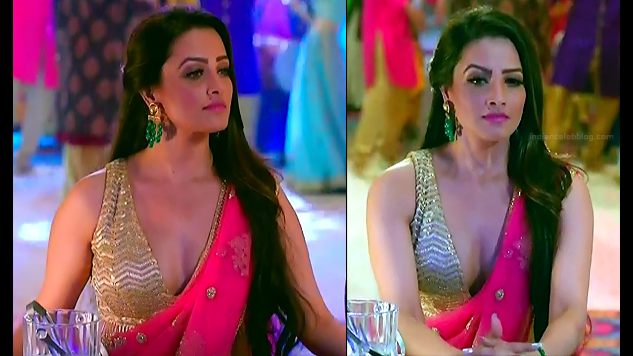 Anita Hassanandani Hindi TV actress YehHMS3 11 hot saree pics