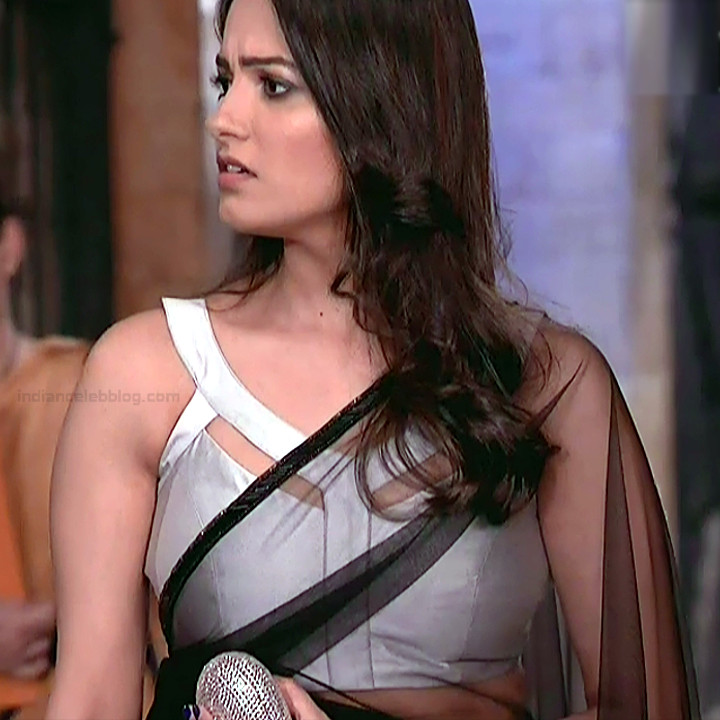 Anita Hassanandani Hindi TV actress YehHMS3 17 hot saree pics