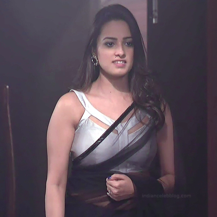 Anita Hassanandani Hindi TV actress YehHMS3 18 hot saree pics