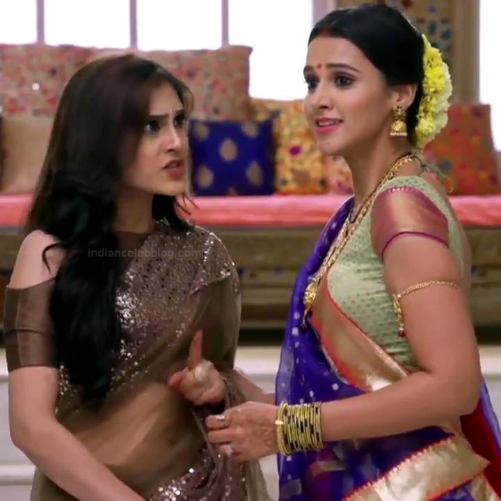 Astha Agarwal Hindi TV Actress KyaHMPS1 14 hot sari photos