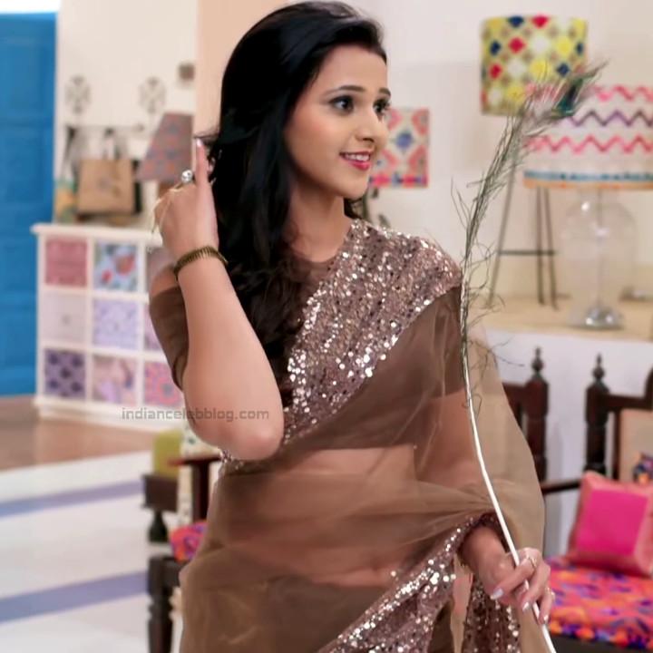 Astha Agarwal Hindi TV Actress KyaHMPS1 17 hot sari photos