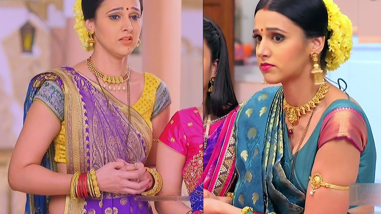 Astha Agarwal Hindi TV Actress KyaHMPS1 9 hot saree pics