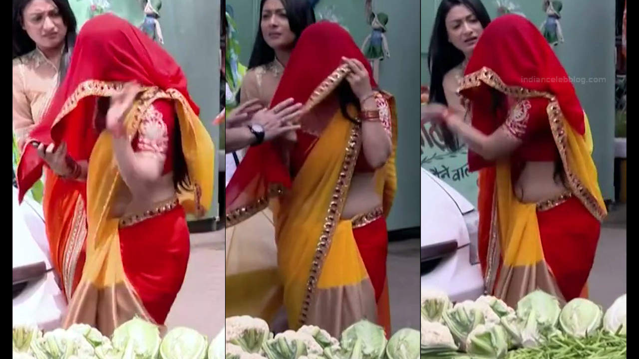 Chandni Bhagwanani Hindi TV Actress Tumhi HBSTS2 9 hot sari caps