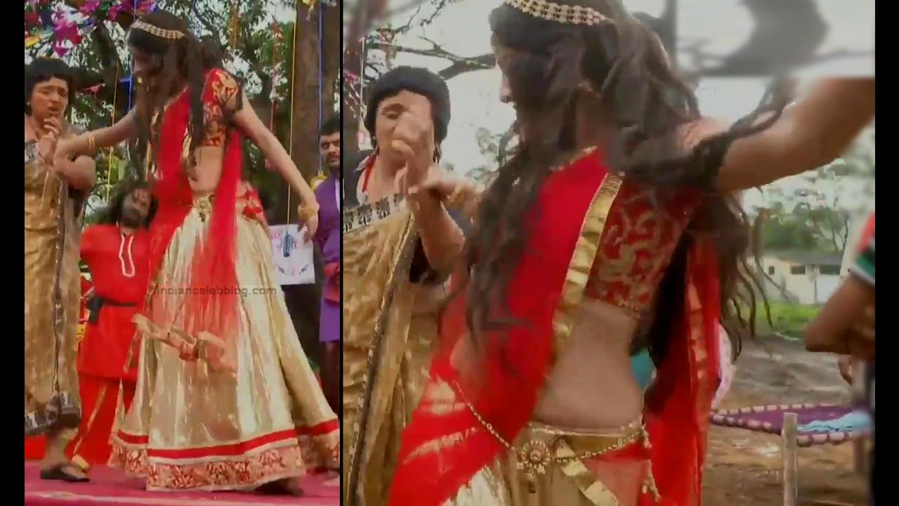 Deepika Singh Hindi TV Actress YTD S1 10 Hot saree caps