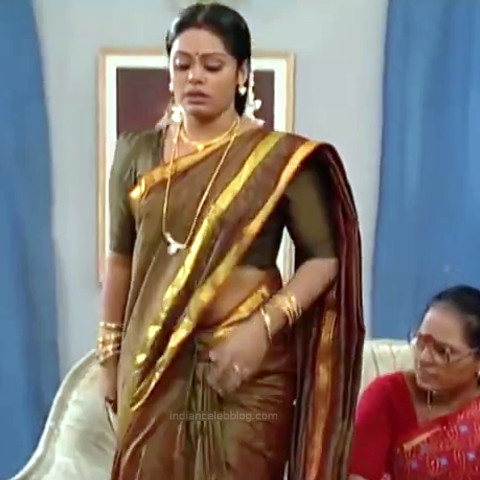 Devi priya Tamil TV actress VKCompS1 16 hot saree pics
