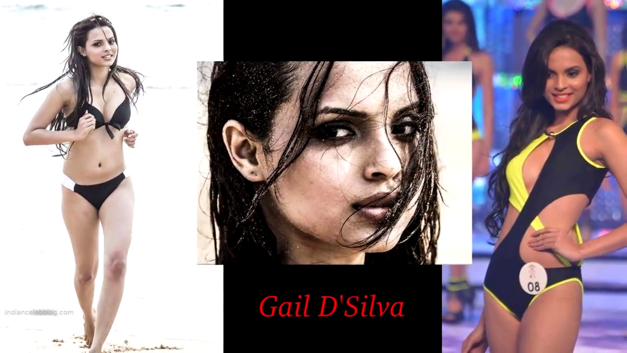 Gail DSilva Miss India 2014 Swimsuit Round Pics