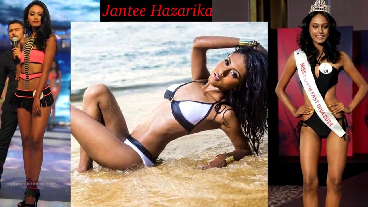 Jantee Hazarika Miss India 2014 Bikini Photoshoot Pics