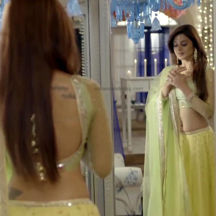 Jennifer Winget Hindi TV Actress YTDS2 14 Hot Lehenga Choli pics