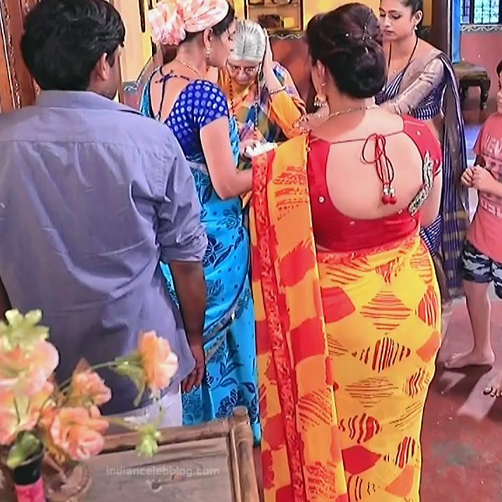 Kannada TV serial mature actress MComp4 12 hot sari caps