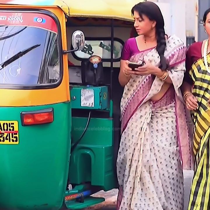 Kannada TV serial mature actress MComp4 14 hot sari caps