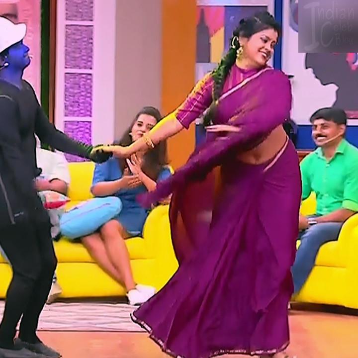 Kannada TV serial mature actress MComp4 2 hot sari caps