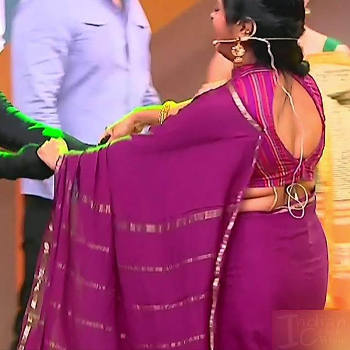 Kannada TV serial mature actress MComp4 4 hot sari caps