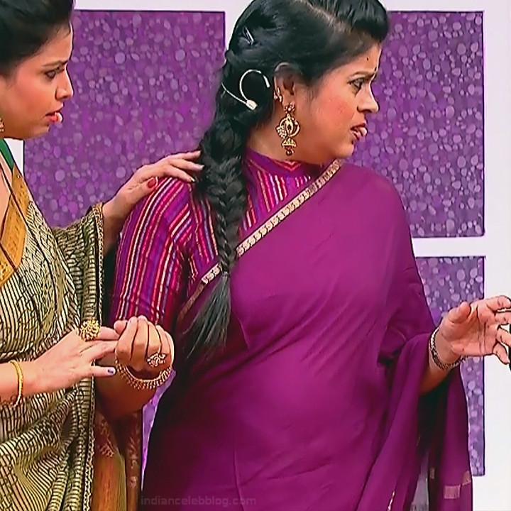 Kannada TV serial mature actress MComp4 6 hot sari caps