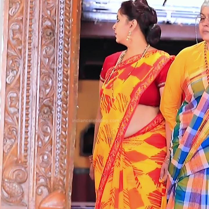 Kannada TV serial mature actress MComp4 8 hot sari caps