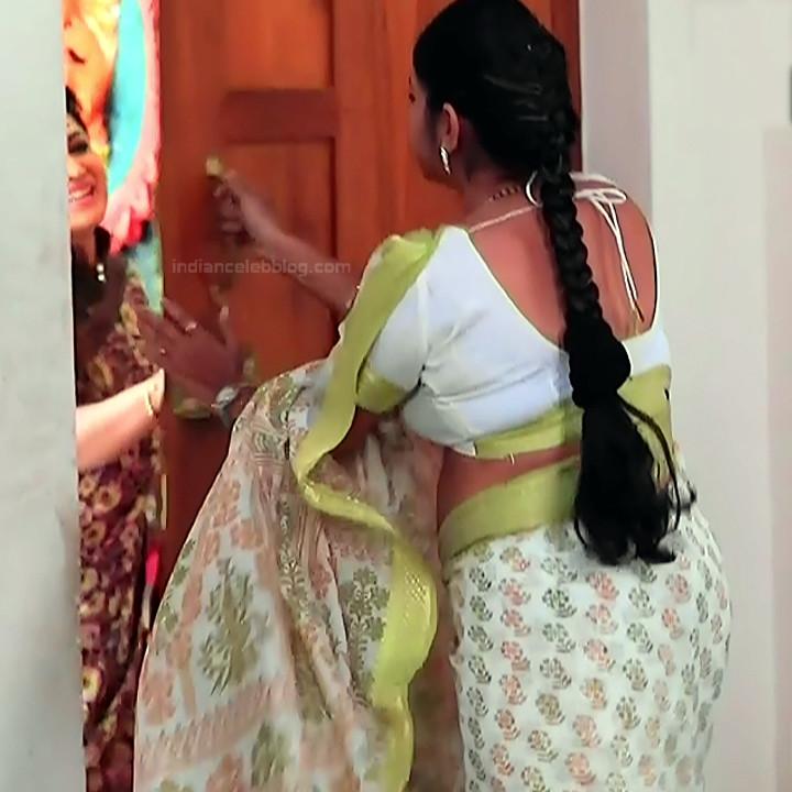 Kannada TV serial mature actress MComp4 9 hot sari caps