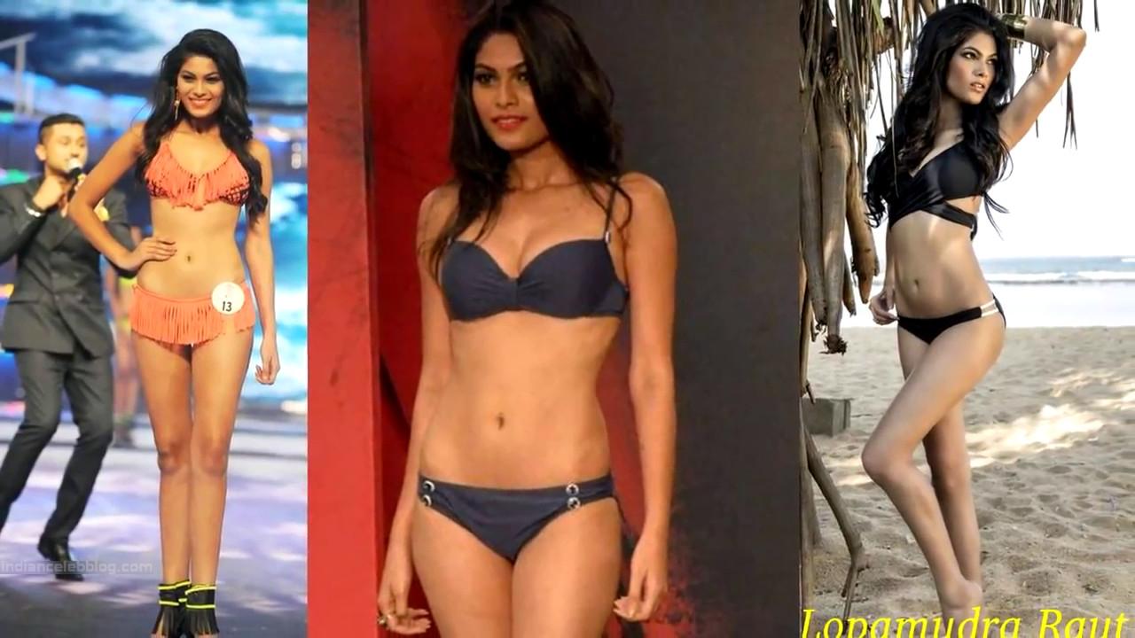 Lopamudra Raut Miss India 2014 Swimsuit Round Pics