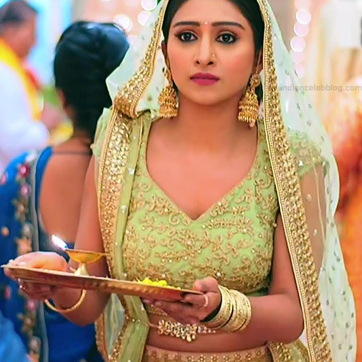 Mohena singh hindi serial actress Yeh RKKHS3 15 hot lehenga photos