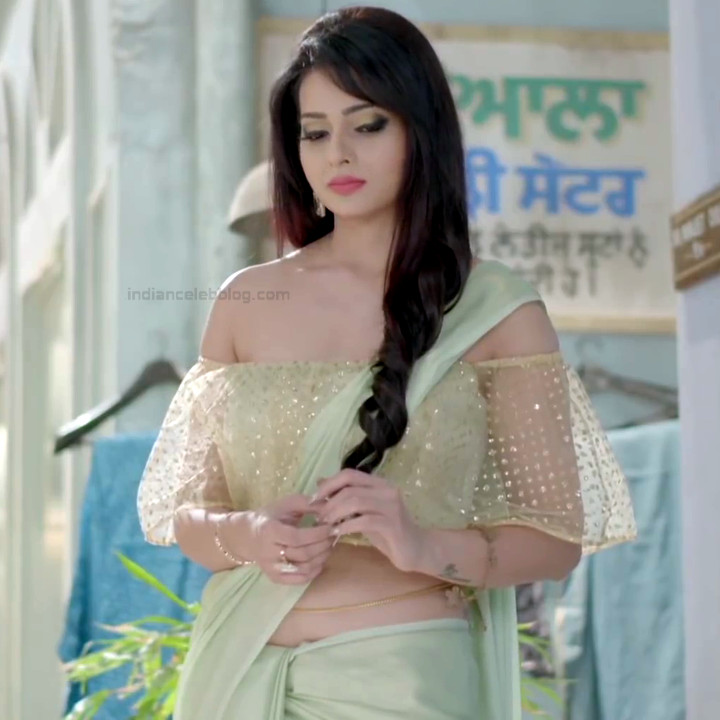 Monica Castelino Hindi TV actress CompS1 8 hot saree pics