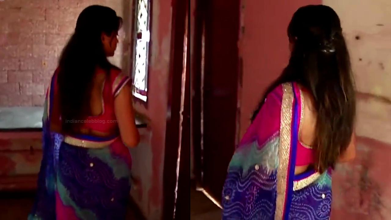 Nagashree Tamil TV Actress Chandralekha S1 16 hot saree photo