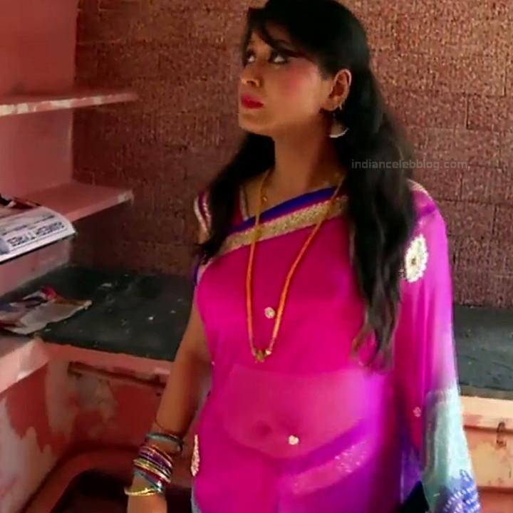 Nagashree Tamil TV Actress Chandralekha S1 18 hot saree photo