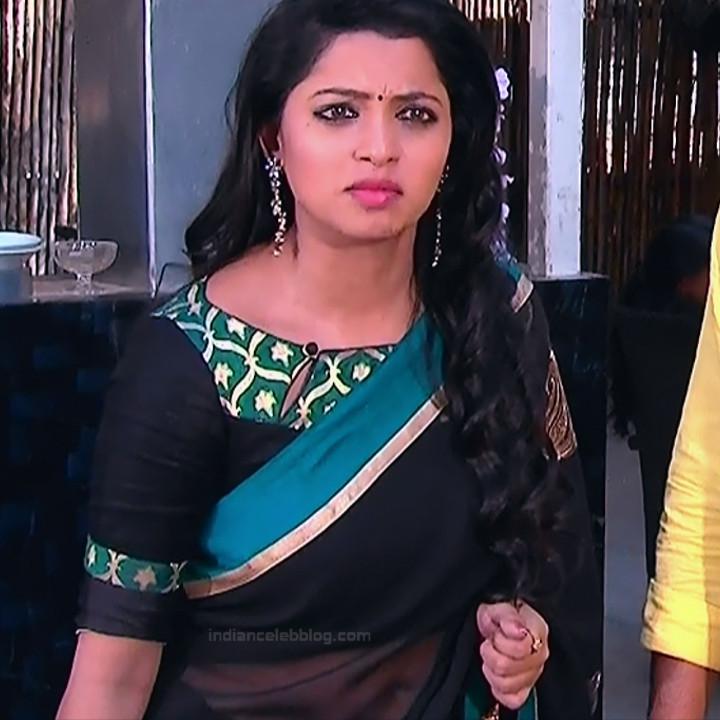Navya Swamy Telugu TV Actress NaaPMS1 3 hot sari photos